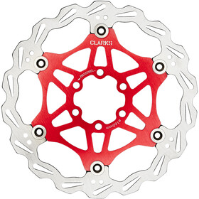 Clarks Lightweight Disc-Rotor 6-Loch red